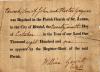 Gayner - Edward - Baptism Certificate