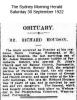 Houison - Richard - Obituary
