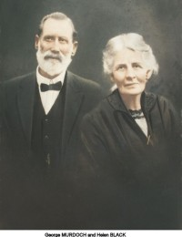 Murdoch-George and Helen (Black)
