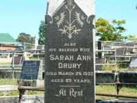 Drury - Sarah Ann