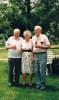 Gorton reunion - Kenneth, Lorna and Arthur