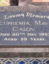 Calov - Euphemia May