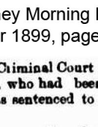 Giblett - Sydney Frederick - Sentenced