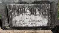 Buckman - William Albert and Eliza