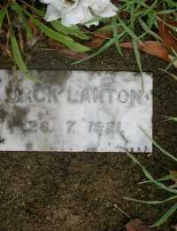 Lanton - Jack (1921)