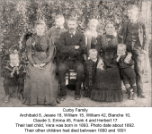 Curby Family about 1892