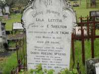 Shelton - Lila Letitia and McLeod - Doris Adeline