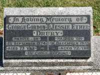 Drury - George Gordon and Jessie Ethel