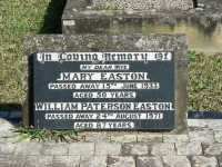 Easton - Mary and William Paterson
