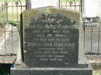 Hawkins - John Richard and Sarah Ann