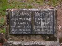Stewart - John William and Elizabeth Jane