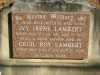 Lambert - Ivy Irene and Cecil Roy