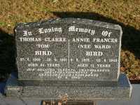 Bird - Thomas Clarke and Annie Frances