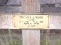 Ross - Thomas Laurie
