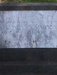Parsons - Sidney S and Elsie M