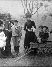 Radley Family - Mary and John with children