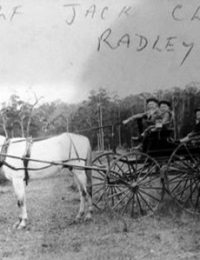 Radley Family - Ernest Alfred, John Clifton and Arnold Clive