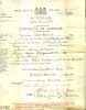 Marriage Certificate - Huckett - William Henry and Palmer - Lydia