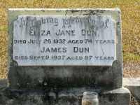 Dun - Eliza Jane and James
