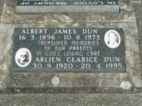 Dun - Albert James and Arlien Clarice