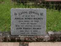 Holmes - Amelia Agnes and John Robert