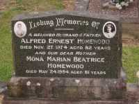 Homewood - Alfred Ernest and Mona Marian Beatrice