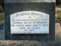McWhirter - Thomas Jesse