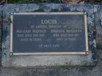 Louis - William Harold and Rebecca Winifred