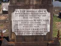 Drew - Peter Norris, Mary Ann and Louisa Charlotte