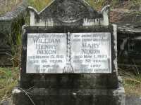 Nixon - William Henry and Mary