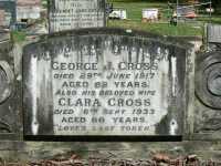 Cross - George J and Clara