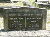 Price - Hilda May and Bailey - Doreen May
