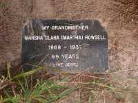 Rowsell - Marsha Clara (Martha)