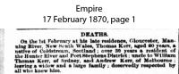 Kerr - Thomas - Death Notice