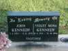 Kennedy - John and Violet Mona