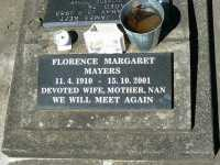 Mayers - Florence Margaret