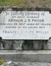 Pryor - Arthur J R and Holley - Frances Evelyn