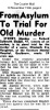 Sindell - Richard - to stand trial for murder