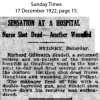 Sindell - Richard - Shot dead one nurse and wounded another