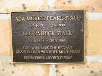 Stace - Ada Muriel Pearl and Leo Patrick