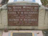Richards - Ethel V M and Alfred W