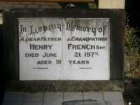 French - Henry - 1973