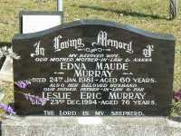 Murray - Edna Maude and Leslie Eric