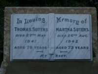 Suters - Thomas and Martha