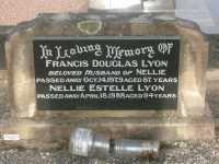 Lyon - Francis Douglas and Nellie Estelle