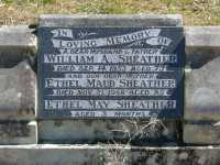 Sheather - William A and Ethel Maud and Ethel May