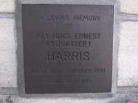 Harris - Raymond Ernest