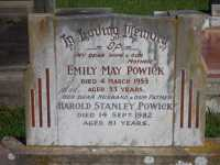 Powick - Emily May and Harold Stanley