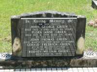 Green - John George, Flora Anne, John Thomas, Gerald Frederick and Rodney William