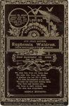 WALDRON (McKINNON)-Euphemia